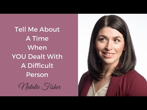 Interview Question - Tell me about a time you dealt with a difficult co-worker (+ Example)