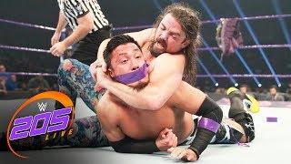 Akira Tozawa vs. The Brian Kendrick - Street Fight: WWE 205 Live, May 23, 2017