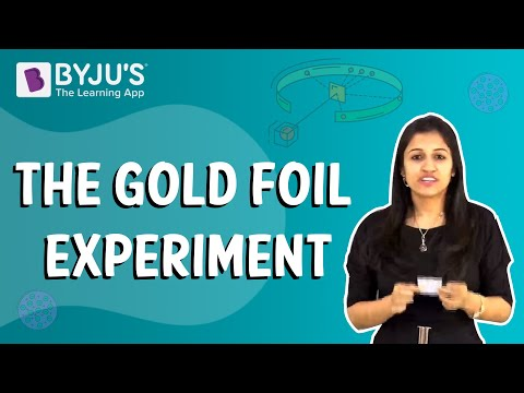 Class 6-10 - The Gold Foil Experiment