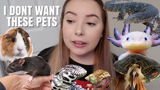 Animals That I DON'T Want To Own...