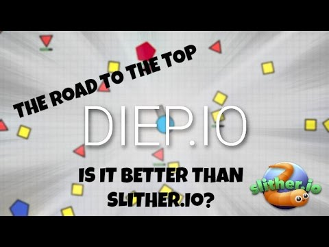 BETTER THAN SLITHER.IO? [Diep.io]