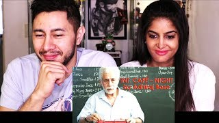 INT. CAFE NIGHT | Short Film | Naeeruddin Shah | Naveen Kasturia | Reaction w/ Anisha!