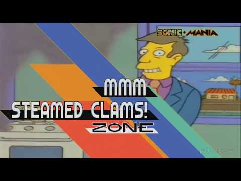 Steamed Hams but every sentence is a zone in Sonic Mania
