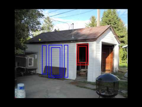 Converting a garage into an art studio in Bozeman, MT