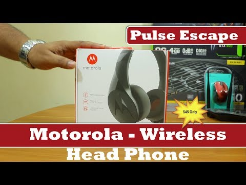 Motorola Pulse Escape Wireless - Headphones with Mic | 2018 | Review