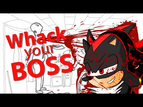 (UPDATE: READ DESCRIPTION) BLOOD EVERYWHERE!!! // SHADOW Let's Play: Whack Your Boss