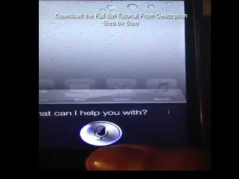 Siri for IOS 6.0 to 6.1.2 On Ipad 2 Iphone 4 3gs and ipod touch 4g