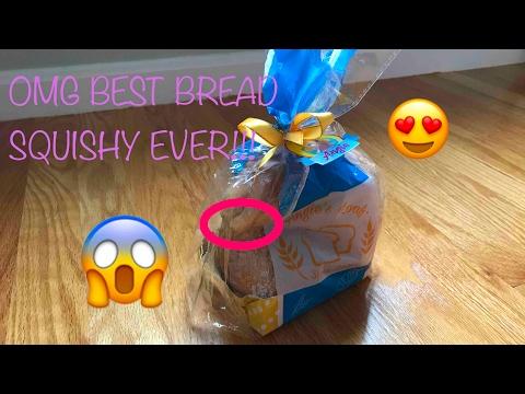 OMG! INSANE BREAD SQUISHY!!!???
