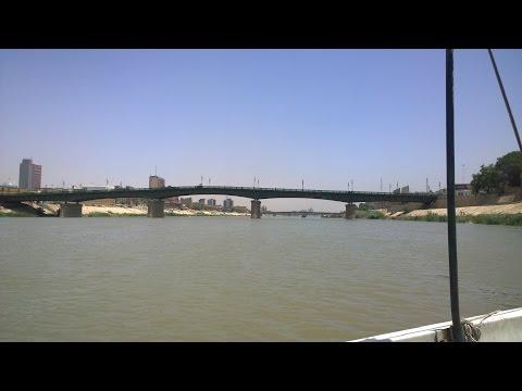 جولة نهرية في نهر دجلة الخير - بغداد  Tigris River - Baghdad HD