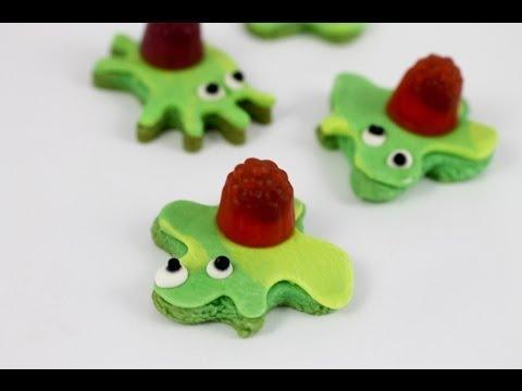 Zombie Splat Cookies