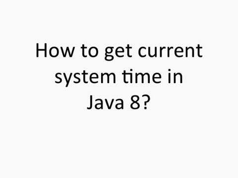 Java 8 Date Time