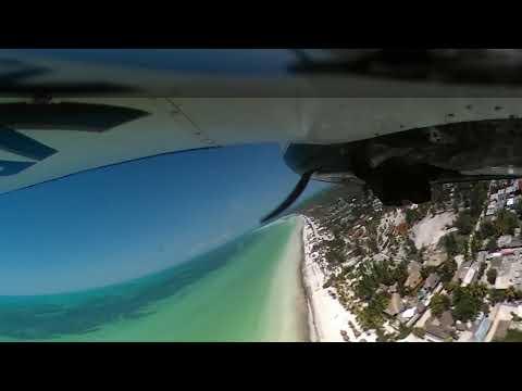 Takeoff short rwy Holbox Island