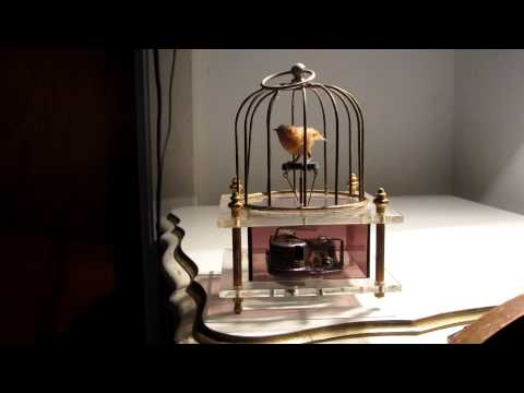 Love Story Theme Bird Music Box