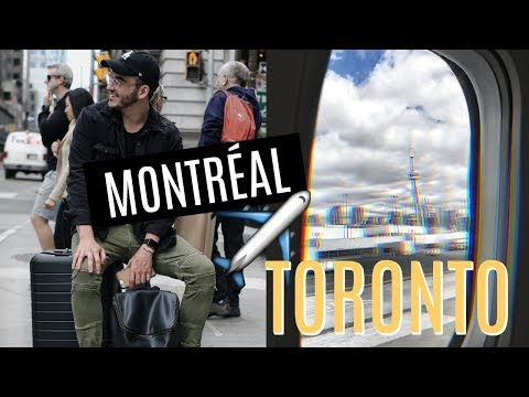 BEST WAY TO TRAVEL FROM MONTRÉAL ➡️ TORONTO