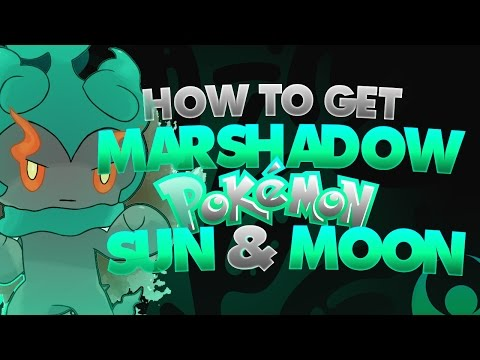 How To Get Marshadow in Pokemon Sun and Moon! (w/PKHex)