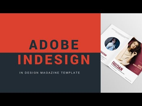 HOW TO EDIT MAGAZINE TEMPLATE IN INDESIGN -  how to create a magazine in indesign cs6