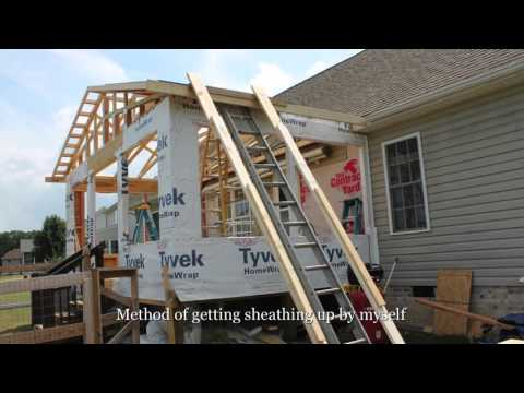 Rick's Sunroom/Deck Addition Aug-Dec 2015