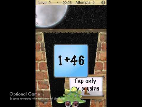 Memory Game: Addition