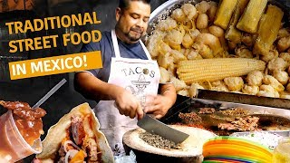 Trying Traditional Mexican Street Food In Mexico! Best Carnitas (mexican Pulled Pork) In Michoacán