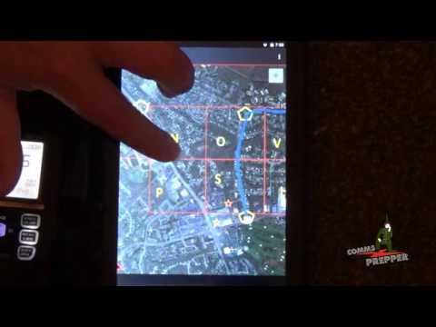 Icom D-STAR GPS Tracking with Offline Maps