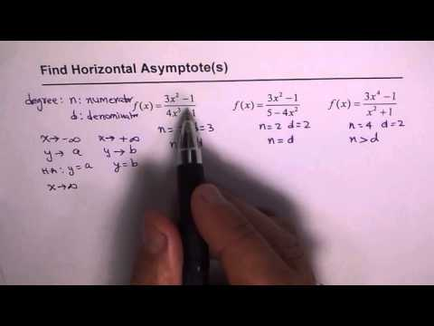 9 How To Find Equation of Horizontal Asymptote