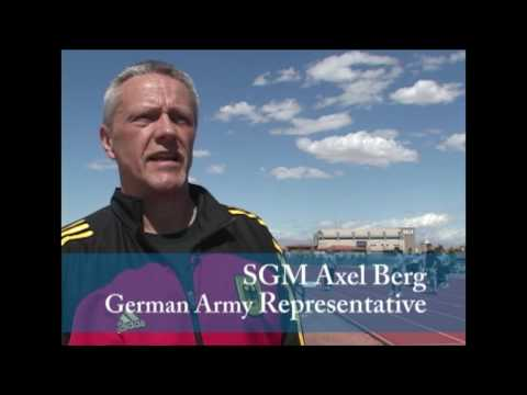 Soldiers and cadets compete to earn the German Armed Forces Proficiency Badge at UNLV