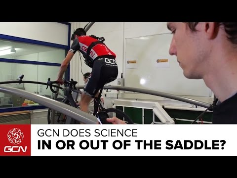Should You Climb In Or Out Of The Saddle? GCN Does Science