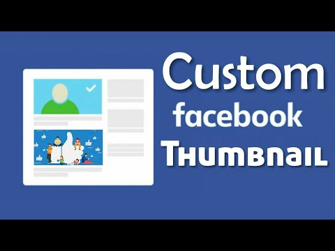 Facebook Custom Thumbnail Android | How to change Facebook Thumbnail FB Page Video cover -TECH DHAKA