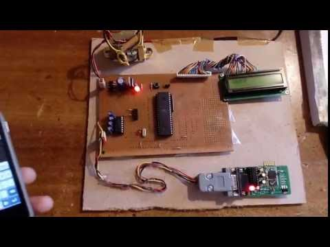 BLUETOOTH CONTROLLED NOTICE BOARD