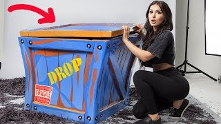 UNBOXING A REAL LIFE FORTNITE SUPPLY DROP