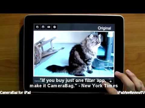 CameraBag for iPad - iPad App Review TV [HD]