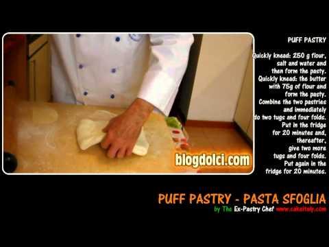 Puff Pastry Recipe - Pasta sfoglia - ITALIAN RECIPES