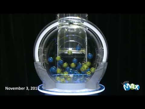 Lotto Max Draw November 3, 2017