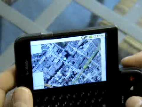 T-Mobile G1 Android Mobiles Please GPS Maps