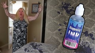 Disappearing Ink Prank On My Grandmoms Bed