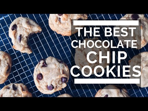 THE BEST CHOCOLATE CHIP COOKIES | yes they're vegan!