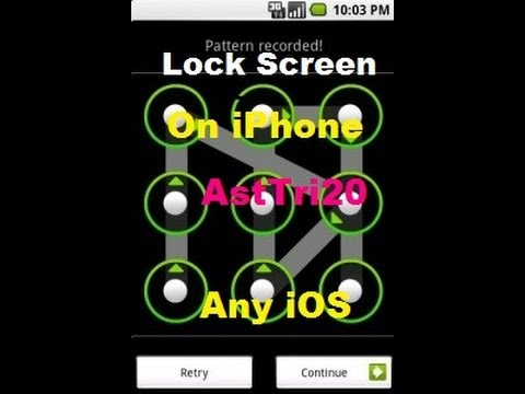 How to Get Android Lock Screen iPhone 5/4s/4/3Gs/3, iPad mini/ iPod Touch On (Any iOS)