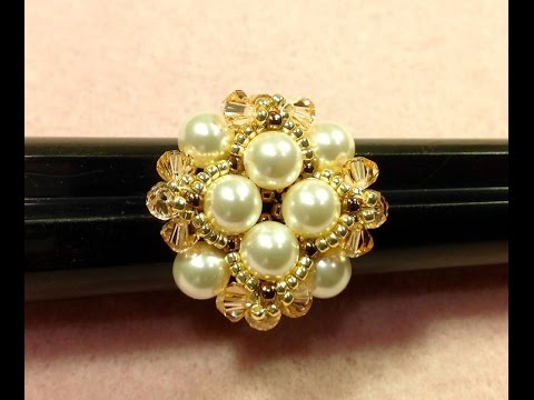 Pearl Button Ring Tutorial