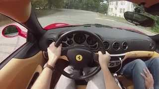 Driving a Ferrari for the first time. POV