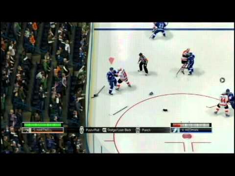 Fighting in NHL 14