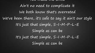 Download Simple - Florida Georgia Line Lyrics Video