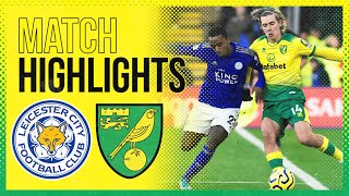 HIGHLIGHTS   Leicester City v Norwich City  