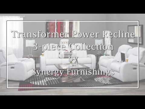 Transformer Power Recline Collection