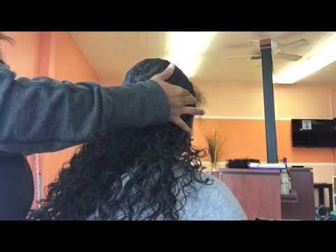 Curly Hair Quick Weave