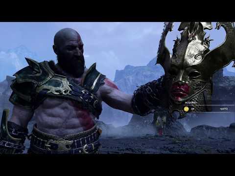 God of War Beating The Valkyrie Queen Sigrun