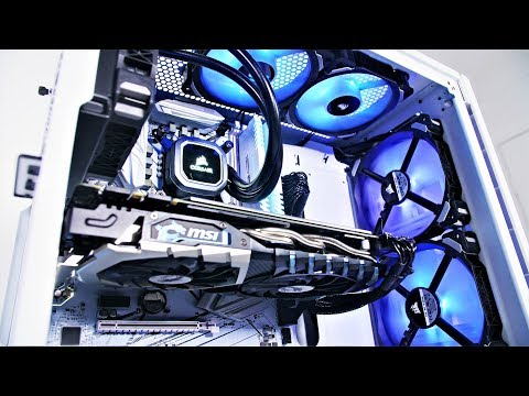 Project Arctic IEM - $2400 GAMING PC BUILD TIME LAPSE 2018