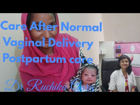 Care After Normal Vaginal Delivery English Postpartum care