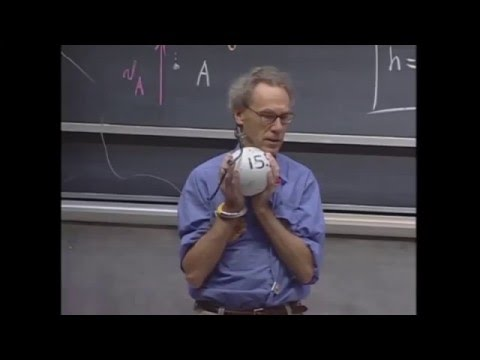 Great science teacher risks his life explaining potential and kinetic energy