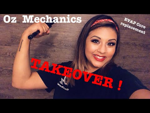 My GF takes over my channel. How to replace an evaporator  core
