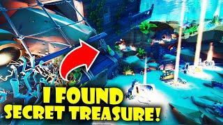 I Found Secret Treasure in the NEW Fortnite Creative Hub!